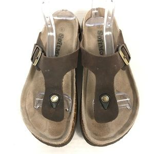 SoftMoc Angy 5 Cork Footbed Thong Sandal